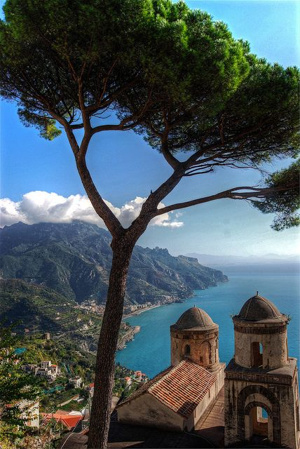 View of Ravello - Campania, Italy: Campania, Beautiful Italy, Favorite Places, Ravello, Amalfi Coast, Places I D, Travel, View, Italy