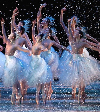 Ballet Arizona Nutcracker Today reminds me of my favorite scene from the Nutcracker Ballet!