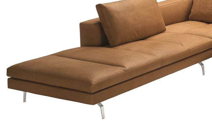 Zanotta Puf Liege zur Erweiterung für Sofa