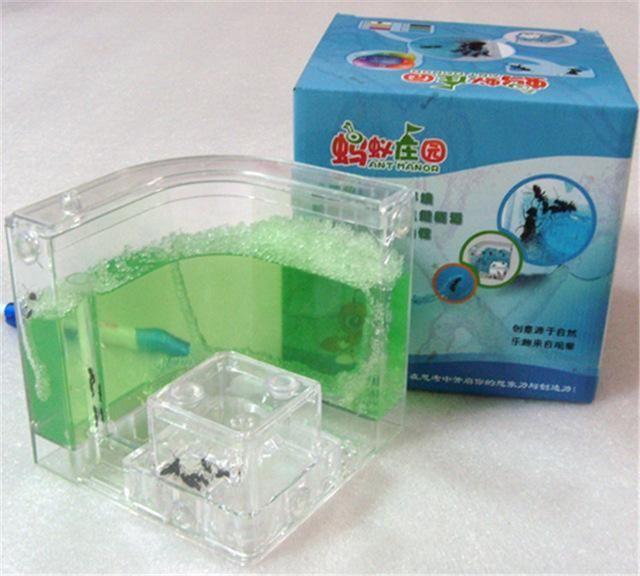Unique mocai Novelty Ant Home Ant Villa Ant Farm palace ecological toys Educational Toy Best Nature