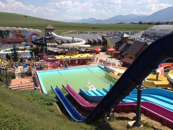 Aquapark Tatralandia ve městě Liptovský Mikuláš, Žilinský kraj