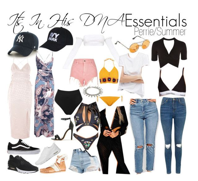 """""""Perrie Edwards Summer Essentials"""" by katiehorror ❤ liked on Polyvore featuring NIKE, '47 Brand, ASOS, Vans, Topshop, Boohoo, Nanda Home, Calvin Klein, Free People and River Island"""