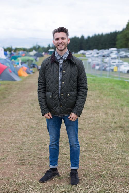 'We spotted Cameron enjoying the festivities at Kendal Calling\x0awearing his…