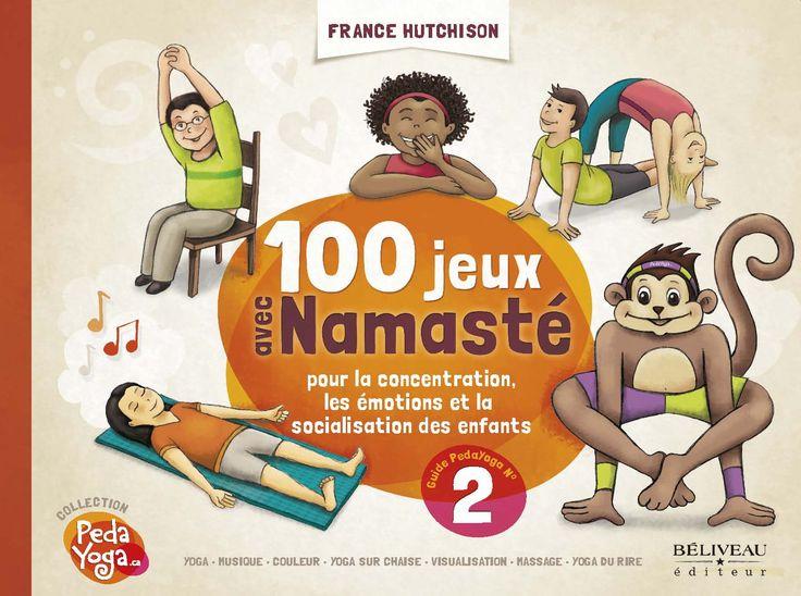 Déjà très en demande, le livre d'activités de yoga pour enfants et la mascotte Namasté ! Et ce qu'on enseigne aux enfants, comme le yoga du rire, peut très bien amener les plus grands à mieux appré...