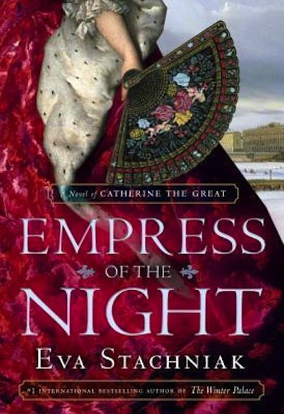 """We are very excited to announce that Eva Stachniak will be attending the Book Lover's Ball on February 6th 2014.   A native to Poland and having moved to Canada in 1981, her novels are often inspired by these two places. """"Empress of the Night"""" is her second historical novel about Catherine the Great and we can look forward to having it in March!"""