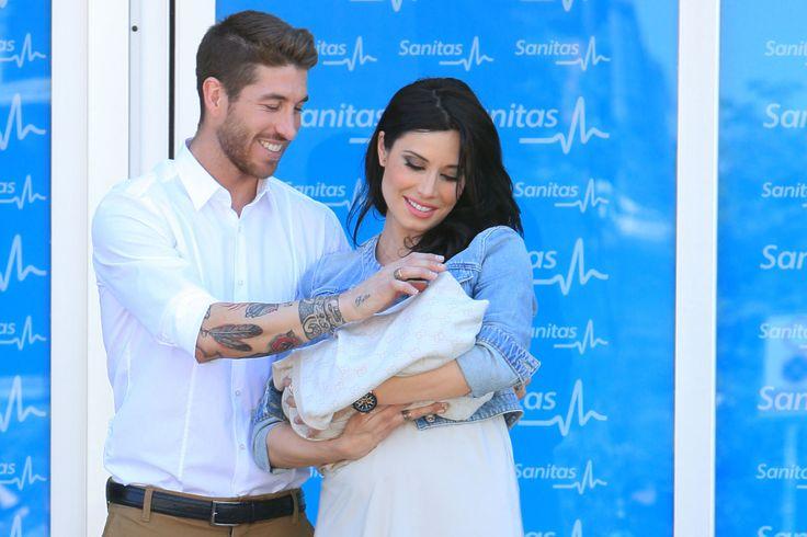 Sergio Ramos Madrid With Pilar Rubio.
