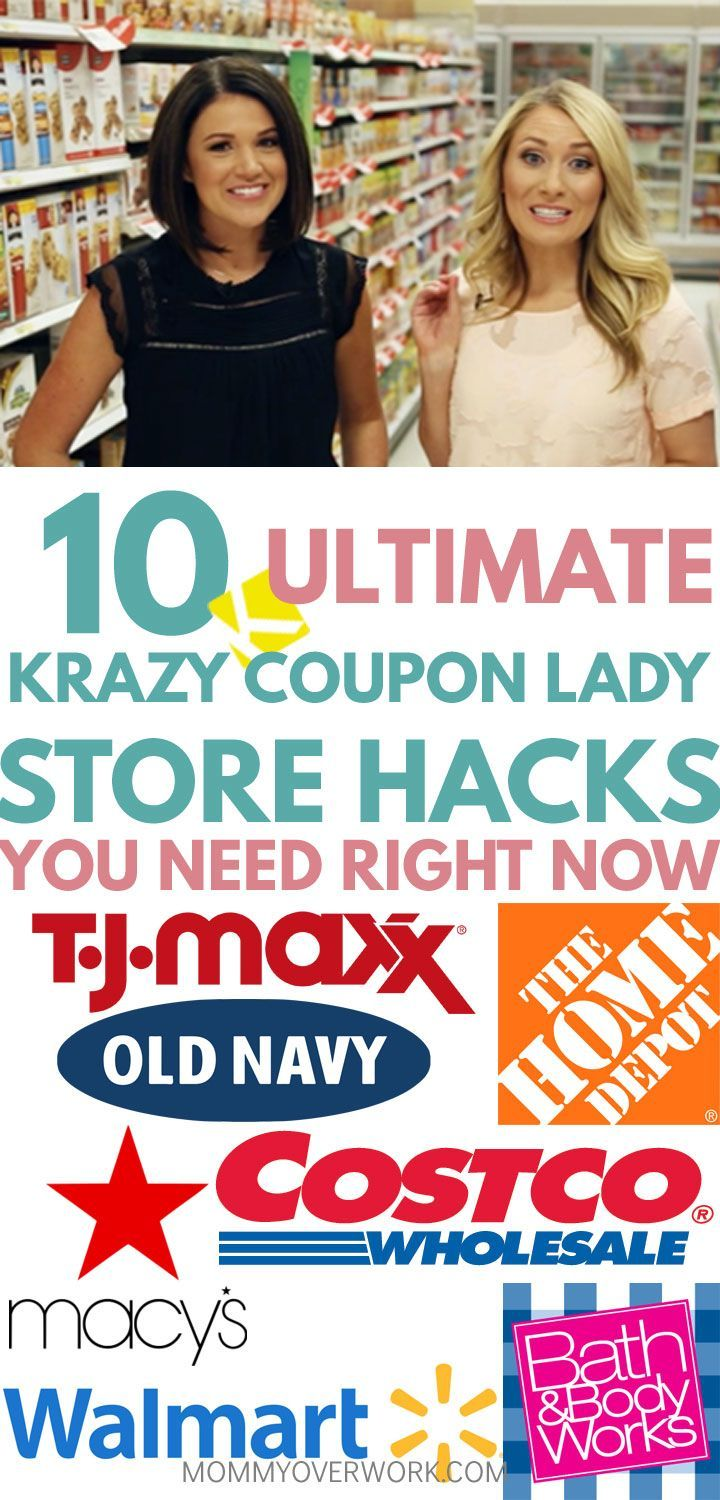 Superior spherical up of the BEST KRAZY COUPON LADY STORE HACKS lists to economize t…