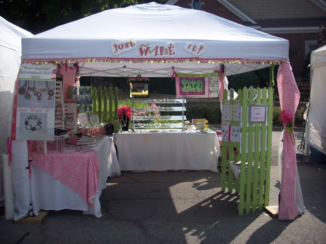 Craft Fair Booth Ideas | Just Ware It!: Trunk Show - Kathy's Kreme of the Kropp