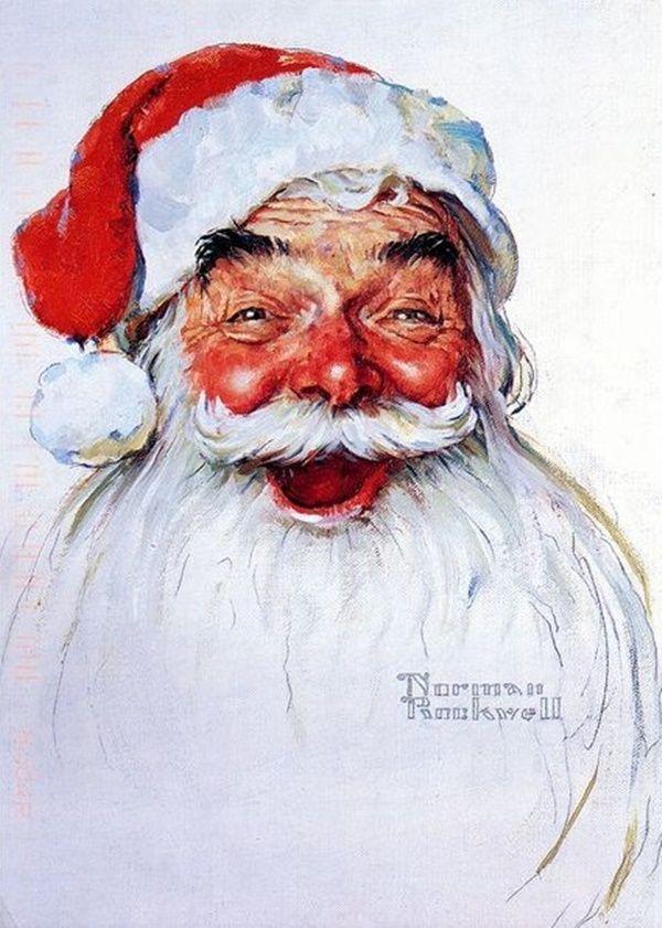 """""""père-noël""""  rétrogirl♥: ~ Norman Rockwell ~ Christmas"""