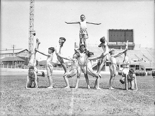 St Patrick's Day sports at Showground, March 1940, by Sam Hood by State Library of New South Wales collection, via Flickr