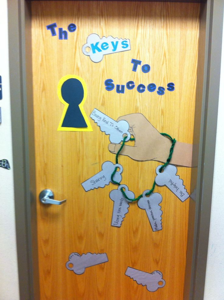 """The keys to success""-theme for kids starting or coming back to group!"