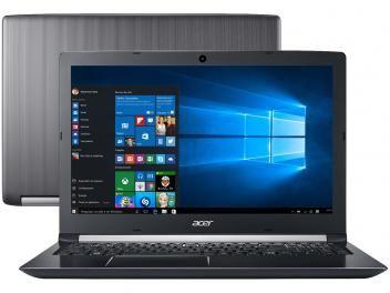 """Notebook Acer Aspire 5 A515-51G-72DB Intel Core i7 - 8GB 1TB LED 15,6"""" Full HD Placa de Vídeo 2GB"""