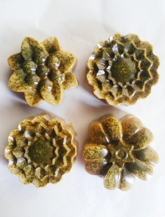 Matcha soap at https://www.etsy.com/listing/249524780/organic-matcha-green-tea-soap