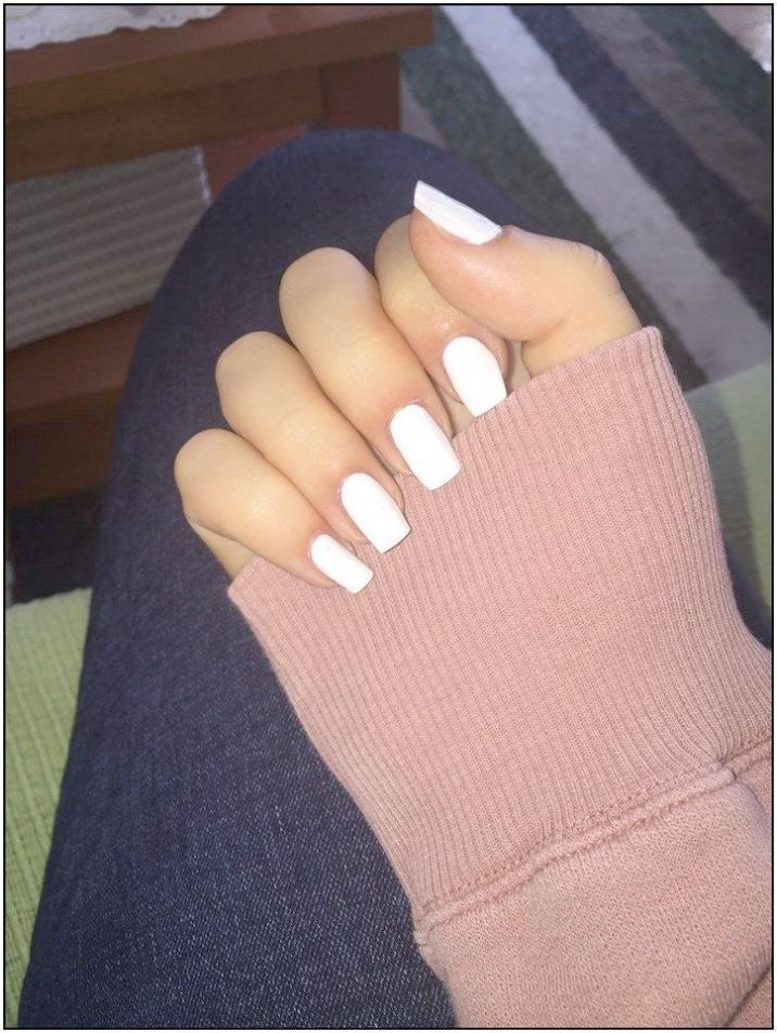 Nail Care Routine At Home With Nail Career Education Chrome Powder Upon Nail Career Education Chrome P White Acrylic Nails Long White Nails Short Acrylic Nails