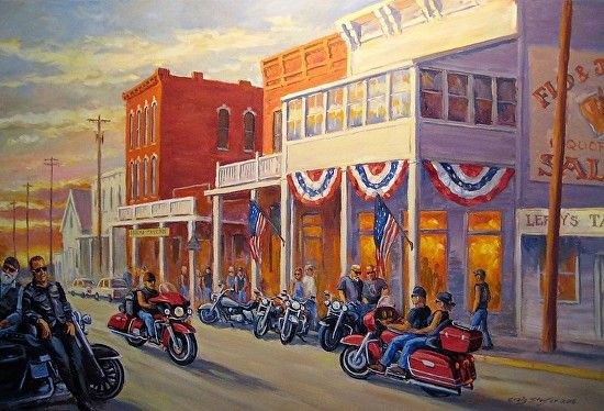 Craig Staufer - Evening Destination- Oil - Painting entry - December 2015 | BoldBrush Painting Competition