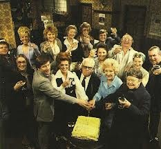 Coronation Street,  Cast 1978  Diedre's glasses and Ena's hairnet  I love this show