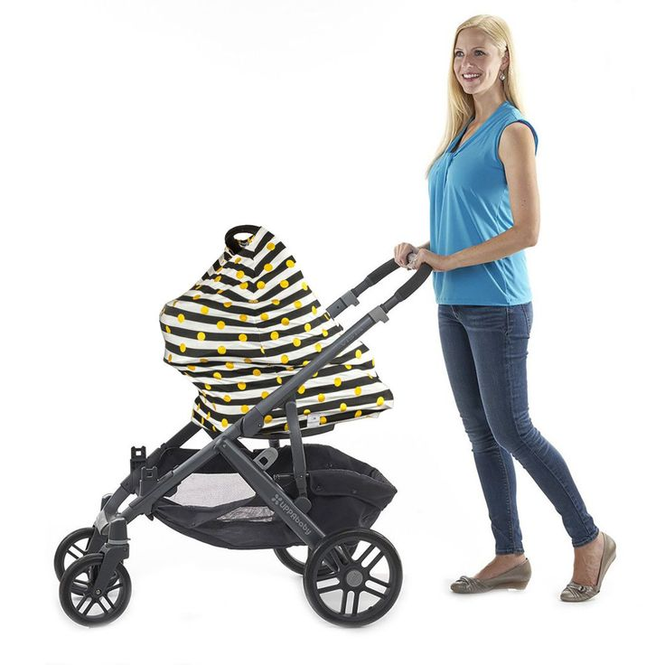 """3-in-1 Car Seat, Shopping Cart & Nursing Cover Free Carry Pouch Included """"Oh So Kate"""""""