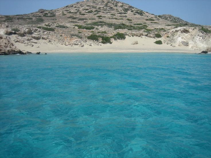 Alone on the beach, Kasos island, Greece
