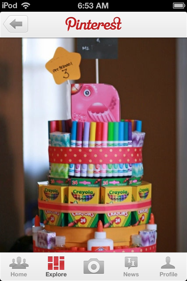 Cake Art Supplies : 67 best party baskets ideas images on Pinterest Gift ...