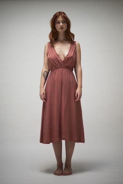 Smoky Pink Dress