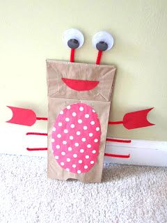 Ocean animal lobster kids craft