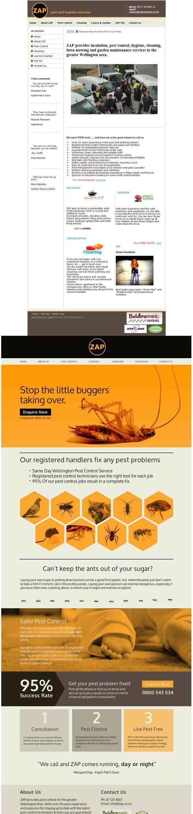 Zap Ltd Website Redesign
