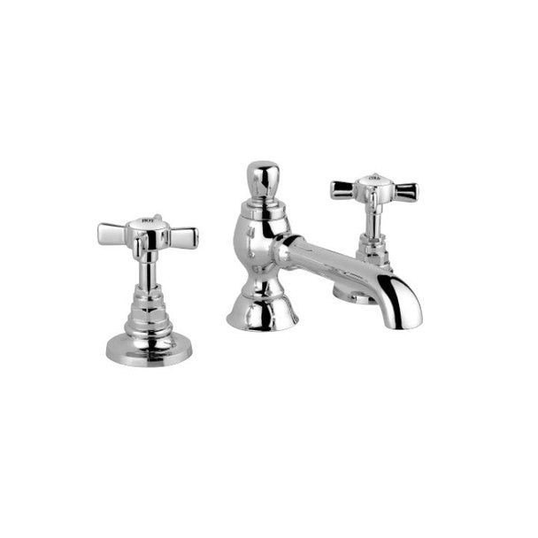 Disegno Nostalgia Widespread Lav Faucet Faucet Mold And Mildew Polished Nickel
