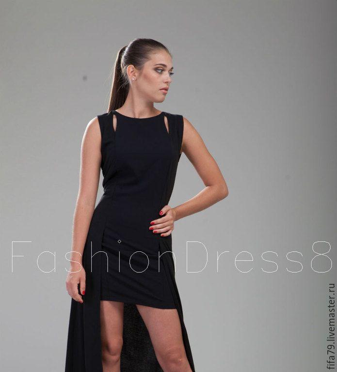 Купить Черное Макси Платье - черный, однотонный, сексуальное платье, секси платье