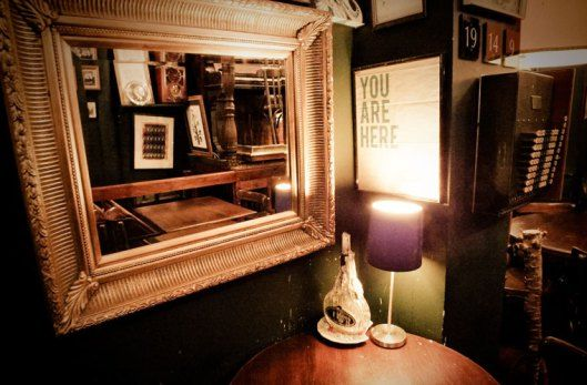 The Black Dove. One of Kemptown's most popular hangouts, it is home to the hippest around, and a large collection of spirits, craft beers and expert bartenders. More on http://bestbars.com/2014/05/24/the-black-dove-brighton/