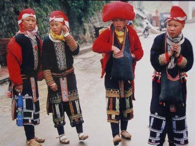 Dao do, Sapa, Vietnam