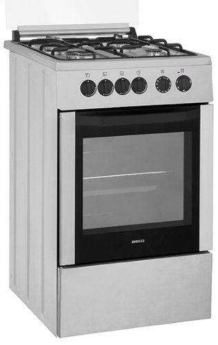 Beko CSG52001DX cuisinière – fours et cuisinières (Autonome, Gaz, Acier inoxydable, Catalyse, Rotatif): Beko CSG52001DX. Design de la…