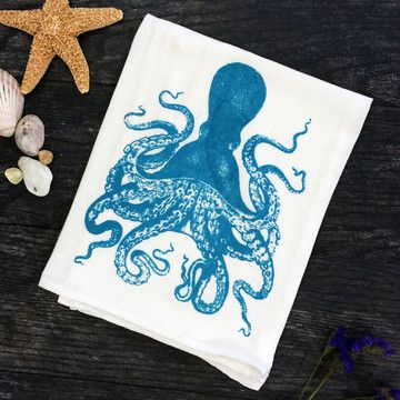 Currently inspired by: Octopus Kitchen Towel Set Of 2 on Fab.com