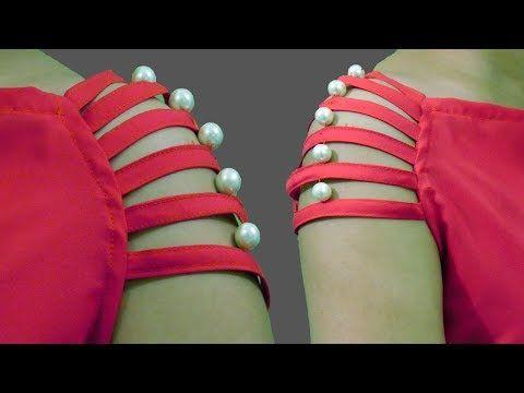 Easy Sleeves Designs | Beads Sleeves ( Baju ) Design | BST - YouTube