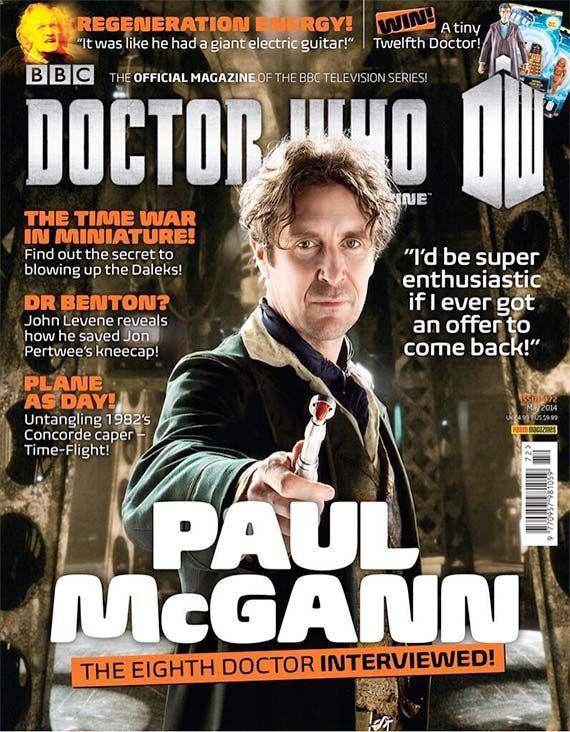 DWM #472: Paul McGann | Doctor Who TV #doctorwho #paulmcgann