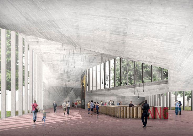 New National Gallery and Ludwig Museum, Ulargui Arquitectos - BETA