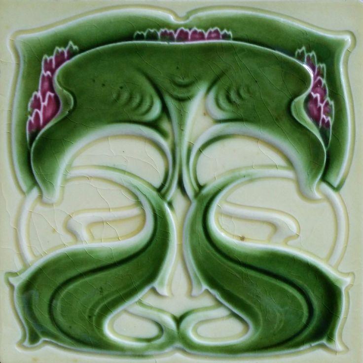Cleveland Tile Co C1903 05 Rs523 Rs792 Art Nouveau Tiles