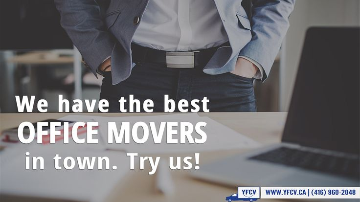 We have the best Office movers in town. Try us!. Try us.Your Friend with a Cube Van.YFCV. www.yfcv.ca. Moving, Packing. 381 Dundas St E, Toronto, ON M5A 2A6