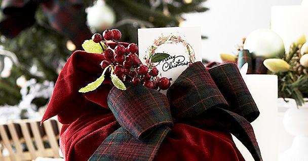 크리스마스 홈 데커레이션 DIY _ 간단하면서 에지 있는 크리스마스 데커레이션 아이디어