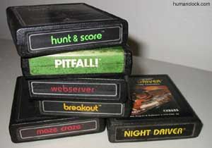 Atari Games!  Had Pitfall and Breakout. Played both all the time!!