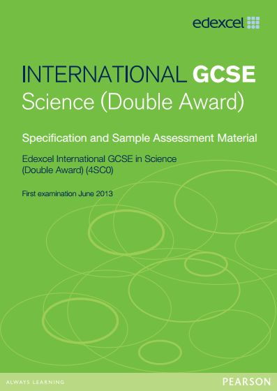 edexcel igcse specification A full paper 1 non-fiction texts and transactional writing mock exam for the new edexcel igcse english language a 2016 specification, to be first examined in summer 2018 i designed this to mimic the sample material provided by edexcel so it includes.