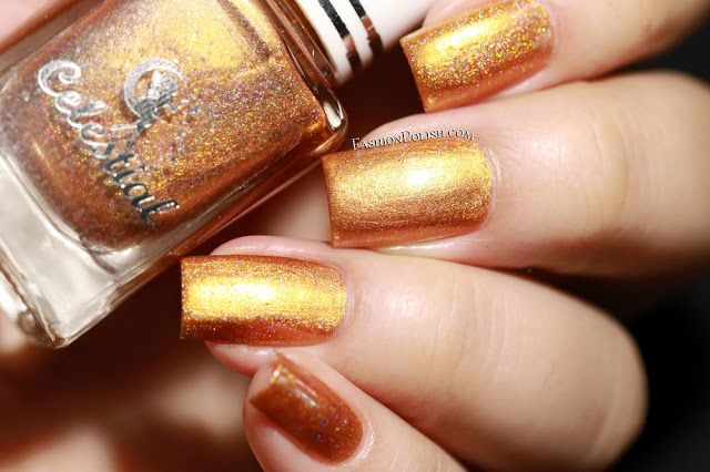 Fashion Polish: Celestial Cosmetics We Breathe the Fire collection - Glaedr