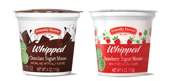 friendly farms chocolate whipped yogurt mousse aldi oh