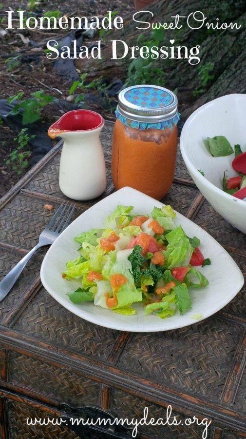 Homemade Sweet Onion Salad Dressing