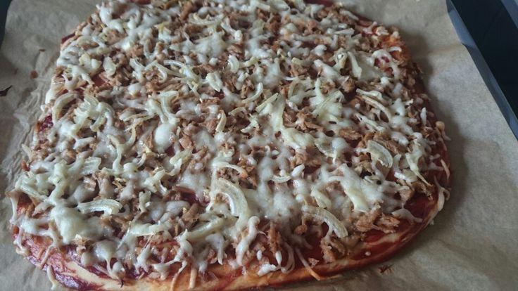 Thunfisch Pizza!