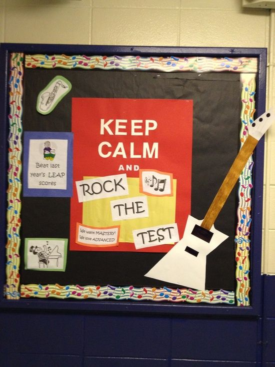 Music Classroom Door Decorations ~ Bulletin boards for music teachers