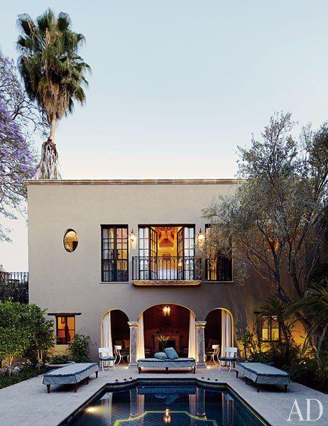 Guest house, San Miguel de Allende, Mexico.