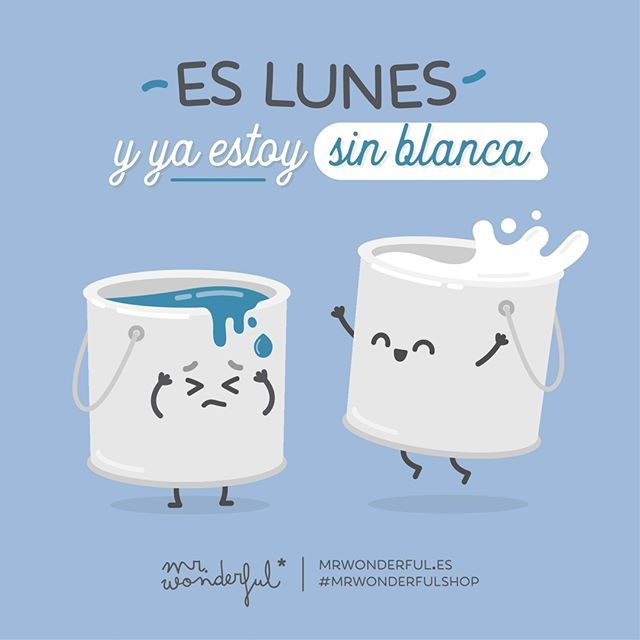 ¿Alguien más con este problemilla? It is Monday and I am totally skint. Anyone else out there have the same problem? #mrwonderfulshop #quotes #monday