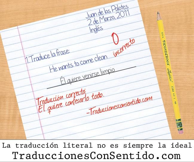 Well done translations at traduccionesconsentido.com: Funny Translation, Well