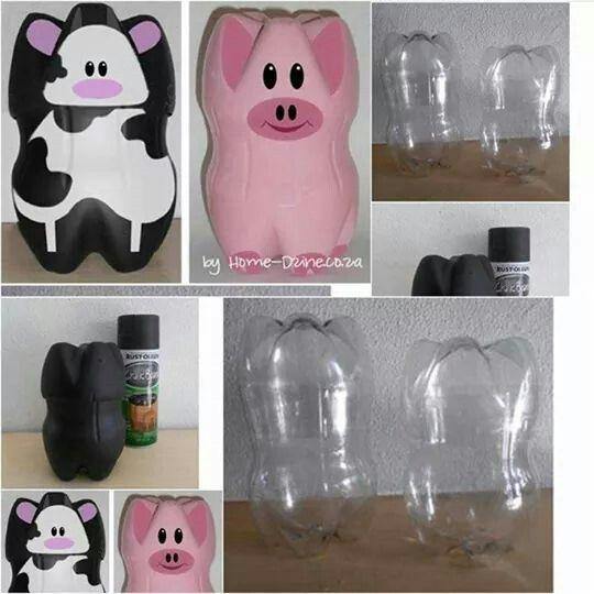 13 manualidades con botellas plasticas art attack sapo - Art attack manualidades ...