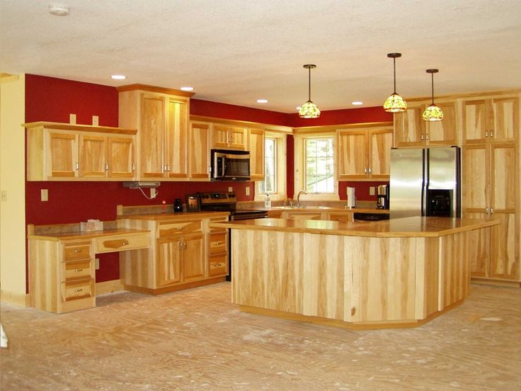 Kitchen Tile Ideas For Hickory Cabinets - http://bedroomdecor.backtobosnia.com/kitchen-tile-ideas-for-hickory-cabinets/ : #Cabinets Kitchen Tile Ideas For Hickory Cabinets – Even hickory cabinets are very traditional and many would even consider this type of cabinet rustic hickory cabinets also works in classical and modern home if paired with the right pieces. Finding the right type of tile means solidifies your style...